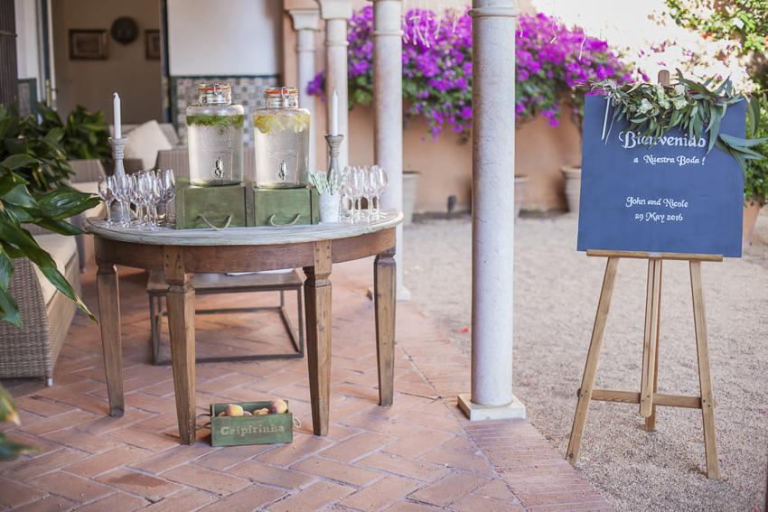 wedding in castillo Santa Catalina