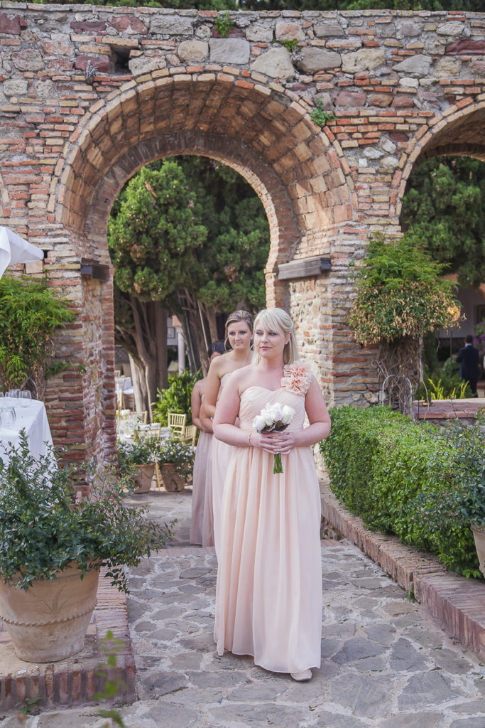 Castillo Santa Catalina wedding