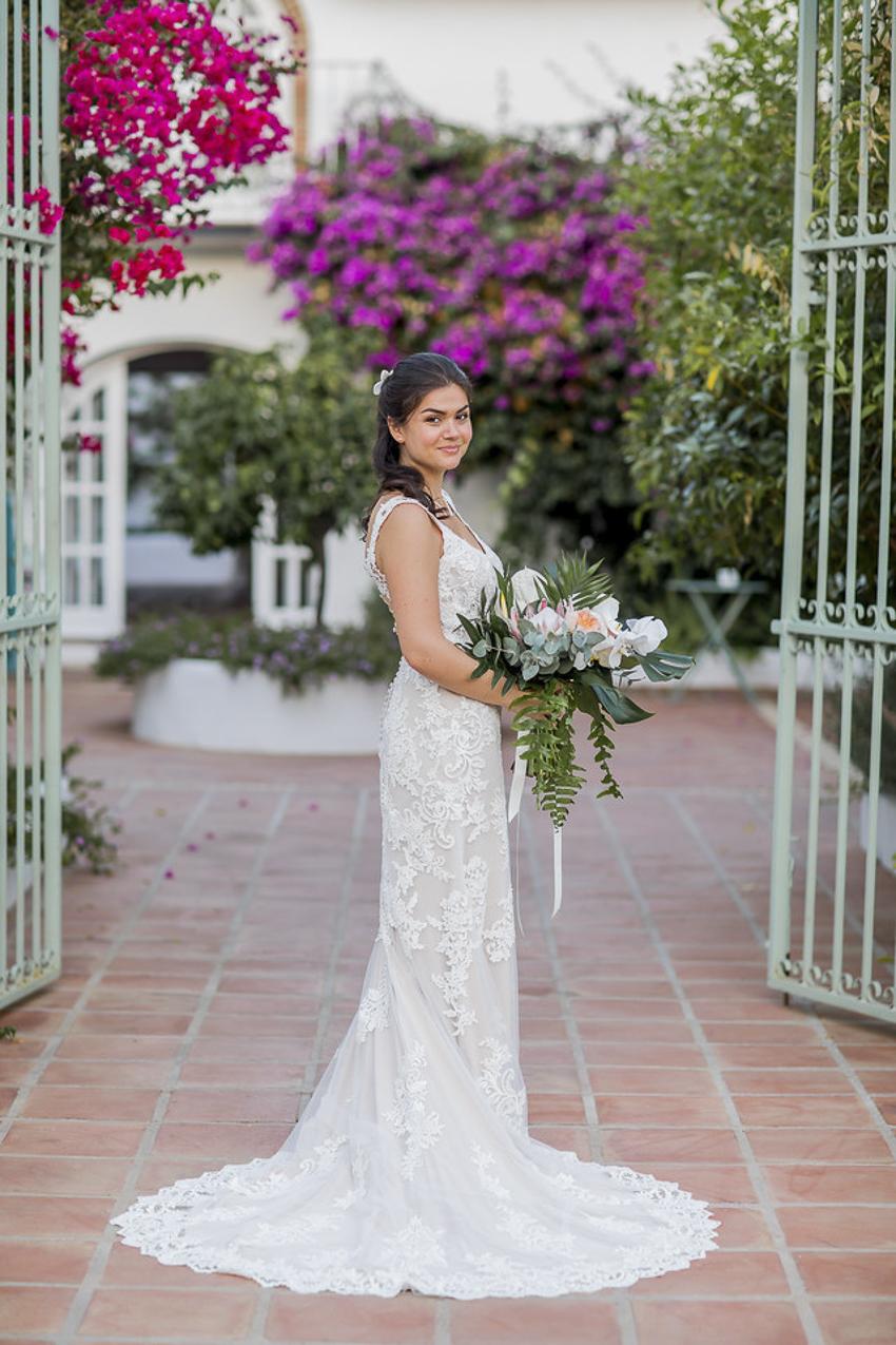 wedding at Cortijo Rosa Blanca Malaga
