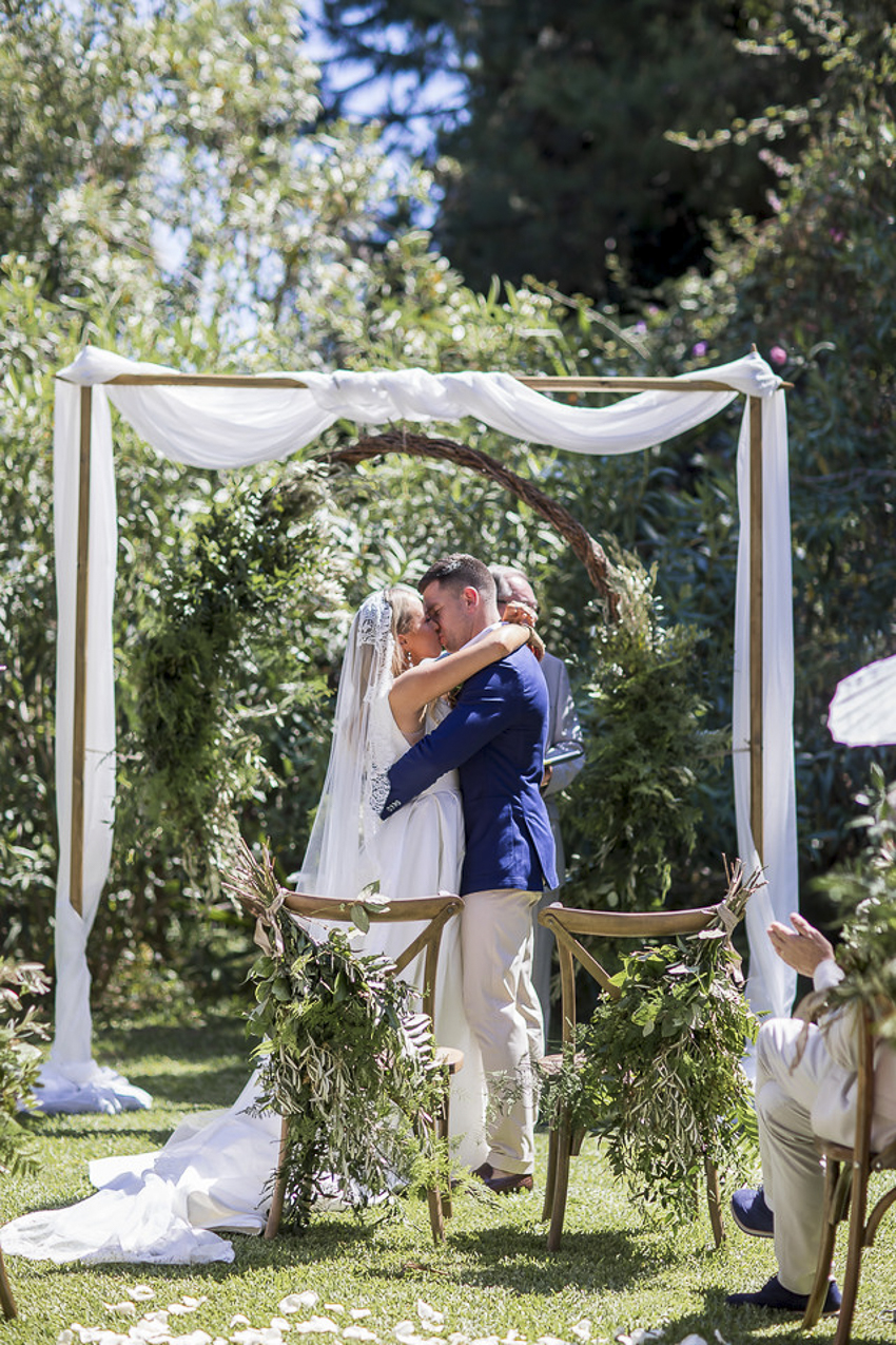 wedding at cortijo los caballos